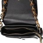 Umhängetasche Prue, Farbe: schwarz, rosa/pink, weiß, Marke: Valentino Bags, Abmessungen in cm: 22.5x14.0x6.0, Bild 5 von 5