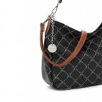 Beuteltasche Anastasia, Farbe: schwarz, grau, blau/petrol, braun, taupe/khaki, beige, Marke: Tamaris, Abmessungen in cm: 32.0x24.0x11.0, Bild 5 von 5