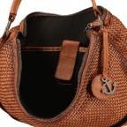 Beuteltasche Soft-Weaving Antonia SW.10501, Farbe: braun, cognac, Marke: Harbour 2nd, Abmessungen in cm: 41.0x36.5x14.0, Bild 7 von 9
