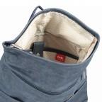 Rucksack Mademoiselle MR180, Farbe: grau, blau/petrol, cognac, Marke: Zwei, Bild 6 von 6