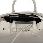 Handtasche Dollaro, Farbe: schwarz, grau, blau/petrol, braun, cognac, taupe/khaki, grün/oliv, rot/weinrot, orange, gelb, weiß, Marke: Hausfelder, Abmessungen in cm: 28.5x21.0x12.0, Bild 8 von 8