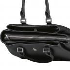 Handtasche Jones Black, Farbe: schwarz, Marke: U.S. Polo Assn., EAN: 8052792838974, Abmessungen in cm: 31.0x24.5x13.0, Bild 9 von 10