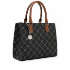 Shopper Anastasia, Farbe: schwarz, grau, blau/petrol, taupe/khaki, beige, Marke: Tamaris, Abmessungen in cm: 29.5x22.5x14.0, Bild 2 von 5