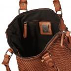 Shopper Soft-Weaving Soraya SW.10500, Farbe: anthrazit, braun, cognac, orange, Marke: Harbour 2nd, Abmessungen in cm: 33.5x26.0x12.5, Bild 8 von 10