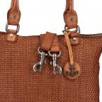 Shopper Soft-Weaving Soraya SW.10500, Farbe: anthrazit, braun, cognac, orange, Marke: Harbour 2nd, Abmessungen in cm: 33.5x26.0x12.5, Bild 10 von 10