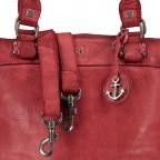 Shopper Anchor-Love Bianca B3.5938, Farbe: anthrazit, grau, blau/petrol, cognac, grün/oliv, rot/weinrot, rosa/pink, orange, gelb, metallic, Marke: Harbour 2nd, Abmessungen in cm: 36.0x27.0x12.5, Bild 8 von 8