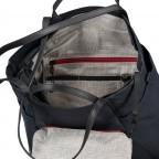 Shopper Japan Takamatsu, Farbe: schwarz, grau, blau/petrol, taupe/khaki, Marke: Aunts & Uncles, Abmessungen in cm: 38.0x34.0x11.0, Bild 6 von 8