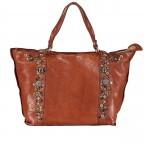 Handtasche Bella Di Notte 25840-X1572, Farbe: anthrazit, cognac, Marke: Campomaggi, Abmessungen in cm: 30.0/40.0x25.0x14.0/4.0, Bild 1 von 9