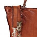 Handtasche Bella Di Notte 25840-X1572, Farbe: anthrazit, cognac, Marke: Campomaggi, Abmessungen in cm: 30.0/40.0x25.0x14.0/4.0, Bild 9 von 9