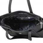 Shopper, Farbe: schwarz, blau/petrol, Marke: U.S. Polo Assn., Abmessungen in cm: 28.5x24.0x11.0, Bild 6 von 6