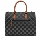 Shopper Anastasia, Farbe: schwarz, grau, blau/petrol, taupe/khaki, Marke: Tamaris, Abmessungen in cm: 35.0x26.0x17.0, Bild 3 von 5