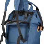 Fahrradtasche Rucksack mit Gepäckträgerbefestigung Black, Farbe: schwarz, Marke: Blackbeat, EAN: 8720088706978, Abmessungen in cm: 25.0x35.0x15.0, Bild 7 von 9