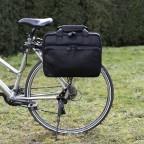 The Chesterfield Brand Fahrradtasche Geneva C50-6002., Farbe: schwarz, braun, cognac, Marke: The Chesterfield Brand, Abmessungen in cm: 40.0x30.0x14.0, Bild 7 von 12