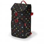 Einkaufsroller Citycruiser Set 2 teilig Rack + Bag, Farbe: schwarz, rot/weinrot, bunt, Marke: Reisenthel, Bild 2 von 14