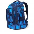 Rucksack Pack, Farbe: schwarz, anthrazit, grau, blau/petrol, grün/oliv, rot/weinrot, flieder/lila, rosa/pink, orange, gelb, bunt, Marke: Satch, Abmessungen in cm: 30.0x45.0x22.0, Bild 2 von 12