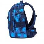 Rucksack Pack, Farbe: schwarz, anthrazit, grau, blau/petrol, grün/oliv, rot/weinrot, flieder/lila, rosa/pink, orange, gelb, bunt, Marke: Satch, Abmessungen in cm: 30.0x45.0x22.0, Bild 3 von 12
