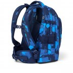 Rucksack Pack, Farbe: schwarz, anthrazit, grau, blau/petrol, grün/oliv, rot/weinrot, flieder/lila, rosa/pink, orange, gelb, bunt, Marke: Satch, Abmessungen in cm: 30.0x45.0x22.0, Bild 6 von 12