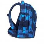 Rucksack Pack, Farbe: schwarz, anthrazit, grau, blau/petrol, grün/oliv, rot/weinrot, flieder/lila, rosa/pink, orange, gelb, bunt, Marke: Satch, Abmessungen in cm: 30.0x45.0x22.0, Bild 7 von 12