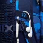 Rucksack Pack, Farbe: schwarz, anthrazit, grau, blau/petrol, grün/oliv, rot/weinrot, flieder/lila, rosa/pink, orange, gelb, bunt, Marke: Satch, Abmessungen in cm: 30.0x45.0x22.0, Bild 11 von 12