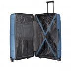 Koffer PP11 75 cm, Farbe: grau, blau/petrol, rot/weinrot, rosa/pink, Marke: Franky, Abmessungen in cm: 52.0x75.0x31.0, Bild 6 von 7