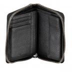 Geldbörse Sulden Norah, Farbe: schwarz, grau, blau/petrol, cognac, Marke: Bogner, Abmessungen in cm: 12.5x10.0x2.5, Bild 3 von 4