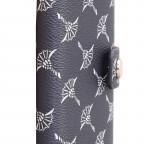 Geldbörse Cortina E-Cage C-Four mit RFID-Schutz, Farbe: grau, blau/petrol, cognac, weiß, Marke: Joop!, Abmessungen in cm: 7.0x10.5x2.5, Bild 4 von 4