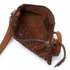 Umhängetasche / Clutch Soft-Weaving Lillen B3.4795 Charming Cognac, Farbe: cognac, Marke: Harbour 2nd, EAN: 4046478019133, Abmessungen in cm: 23.0x13.0x2.0, Bild 3 von 7