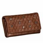 Geldbörse Soft-Weaving Adriane B3.9857 Charming Cognac, Farbe: cognac, Marke: Harbour 2nd, EAN: 4046478019188, Abmessungen in cm: 18.0x10.0x3.5, Bild 2 von 4