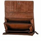 Geldbörse Soft-Weaving Adriane B3.9857 Charming Cognac, Farbe: cognac, Marke: Harbour 2nd, EAN: 4046478019188, Abmessungen in cm: 18.0x10.0x3.5, Bild 4 von 4
