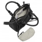 Handtasche Grandma's Luxury Club Mrs.Choco Sprinkle Black Smoke, Farbe: schwarz, Marke: Aunts & Uncles, EAN: 4250394923218, Abmessungen in cm: 30.0x21.0x12.0, Bild 4 von 5