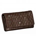 Geldbörse Soft-Weaving Adriane B3.9857 Chocolate Brown, Farbe: braun, Marke: Harbour 2nd, EAN: 4046478019171, Abmessungen in cm: 18.0x10.0x3.5, Bild 2 von 4