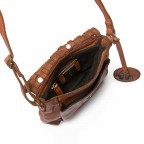 Umhängetasche Soft-Weaving Mamamia B3.5771 Charming Cognac, Farbe: cognac, Marke: Harbour 2nd, EAN: 4046478024984, Abmessungen in cm: 16.0x19.0x2.0, Bild 4 von 5
