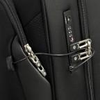 Kleidersack Xblade Garment Bag Wheels mit zwei Rollen Black, Farbe: schwarz, Marke: Samsonite, EAN: 5414847964084, Abmessungen in cm: 60.0x51.0x26.0, Bild 10 von 11
