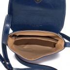 Umhängetasche Toscana Blau, Farbe: blau/petrol, Marke: Hausfelder, EAN: 4065646000049, Abmessungen in cm: 19.0x19.0x7.0, Bild 6 von 6