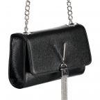 Umhängetasche Divina Nero, Farbe: schwarz, Marke: Valentino Bags, EAN: 8052790167328, Abmessungen in cm: 17.5x11.5x6.0, Bild 2 von 6