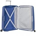 Koffer S´Cure Spinner 55 Dark Blue, Farbe: blau/petrol, Marke: Samsonite, EAN: 5414847329944, Abmessungen in cm: 40.0x55.0x20.0, Bild 3 von 5