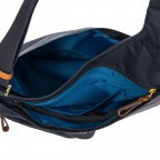 Umhängetasche X-Bag & X-Travel Ocean Blue, Farbe: blau/petrol, Marke: Brics, EAN: 8016623886862, Abmessungen in cm: 32.0x28.0x8.0, Bild 5 von 7