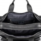 Aktentasche Loreto Pandion MHZ Black, Farbe: schwarz, Marke: Joop!, EAN: 4053533529582, Abmessungen in cm: 40.0x31.0x10.0, Bild 4 von 6