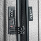 Koffer Albany 55 cm Dunkelblau, Farbe: blau/petrol, Marke: Assima, Abmessungen in cm: 36.0x55.0x20.0, Bild 5 von 5