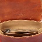Umhängetasche Toscana Cognac, Farbe: cognac, Marke: Hausfelder, EAN: 4065646000063, Abmessungen in cm: 19.0x19.0x7.0, Bild 4 von 6