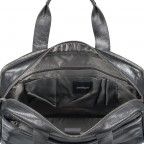 Aktentasche Coleman Briefbag MHZ Black, Farbe: schwarz, Marke: Strellson, EAN: 4053533651719, Abmessungen in cm: 38.5x30.0x12.0, Bild 5 von 7