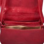Satteltasche Toscana Größe M Rot, Farbe: rot/weinrot, Marke: Hausfelder, EAN: 4065646000179, Abmessungen in cm: 27.0x20.0x11.0, Bild 6 von 6