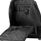 Rucksack Rich Laptopfach 15,4 Zoll, Farbe: schwarz, braun, cognac, Marke: The Chesterfield Brand, Abmessungen in cm: 32.0x40.0x14.0, Bild 4 von 6
