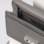 Umhängetasche Roros Grey Silver, Farbe: grau, Marke: Seidenfelt, EAN: 4251634219368, Abmessungen in cm: 21.0x16.5x6.5, Bild 5 von 5