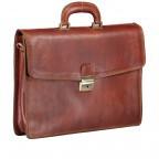 Aktentasche Braun, Farbe: braun, Marke: Hausfelder, EAN: 4065646000377, Abmessungen in cm: 40.0x30.0x8.0, Bild 2 von 9