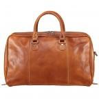 Reisetasche Größe XS Cognac, Farbe: cognac, Marke: Hausfelder, EAN: 4065646000650, Bild 3 von 7