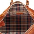 Reisetasche Größe XS Cognac, Farbe: cognac, Marke: Hausfelder, EAN: 4065646000650, Bild 5 von 7