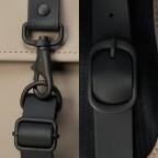 Rucksack Backpack, Farbe: schwarz, anthrazit, blau/petrol, taupe/khaki, grün/oliv, gelb, beige, weiß, Marke: Rains, Abmessungen in cm: 28.5x47.0x10.0, Bild 5 von 5