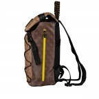 Rucksack Salameda, Farbe: schwarz, braun, Marke: Guess, Abmessungen in cm: 29.5x40.0x17.0, Bild 3 von 10