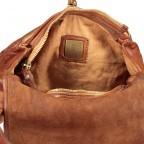 Umhängetasche Clivia 2570-X0001 Leder Cognac, Farbe: cognac, Marke: Campomaggi, EAN: 8054302089708, Abmessungen in cm: 28.0x20.0x8.0, Bild 9 von 9